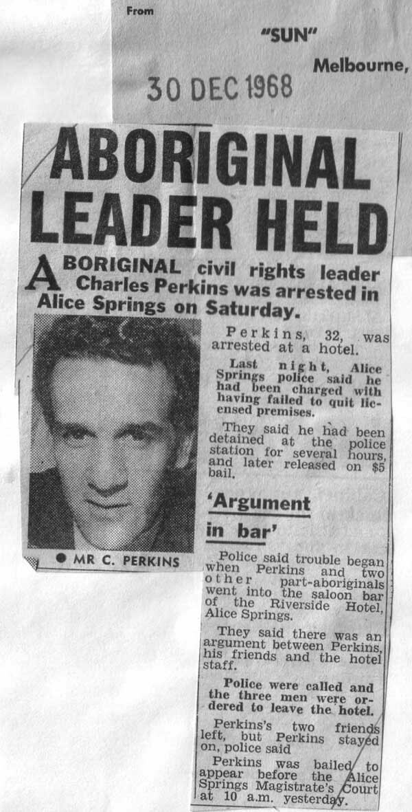 the life of charles nelson perkins Charles nelson perkins was an australian aboriginal activist he played an important role in the push for aboriginal civil rights in the 1960s and 1970s he was one of the most influential.